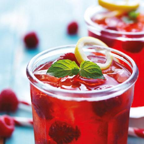 Gin koktel s malinama