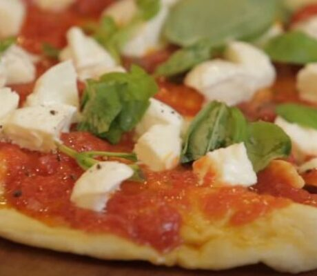 Amazing Fried Pizza