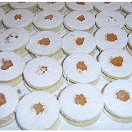 Bijeli kolač s bademom