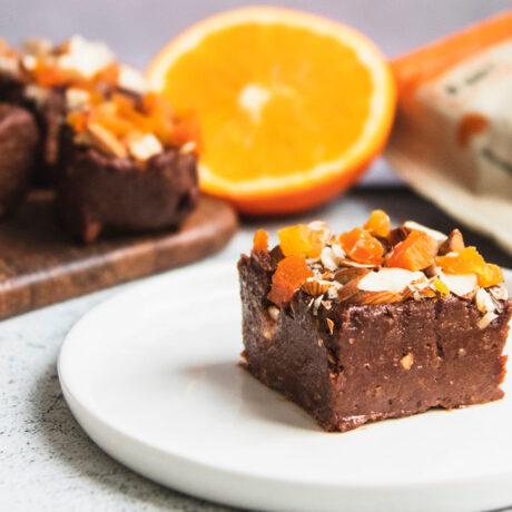 Čokoladne kocke s narančom
