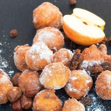 Fritule s jabukama