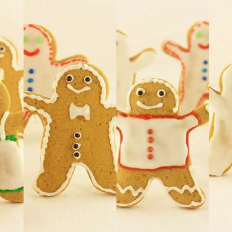 Gingerbread Xmas cookies