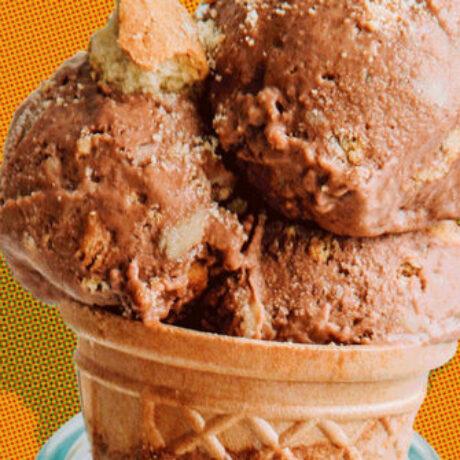 Lažni sladoled ok čokolade