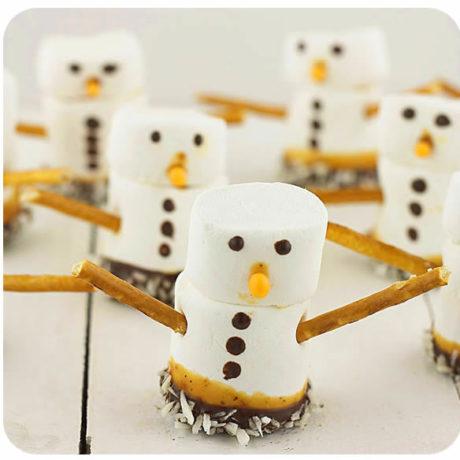 Marshmallow snjegovići