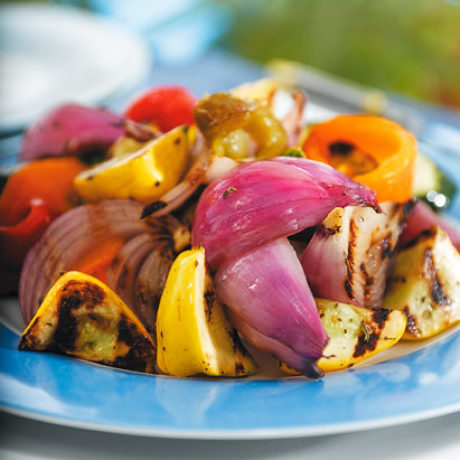 Mediteranska salata sa žara