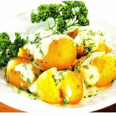 Mladi krumpir s umakom od peršina