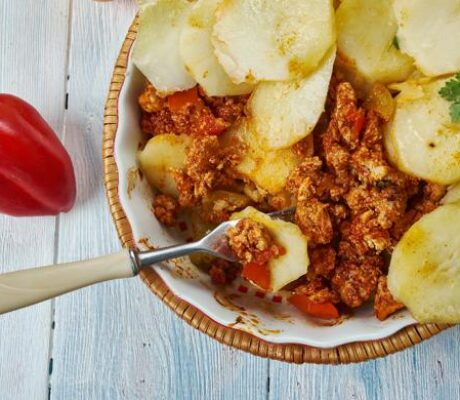 Musaka od mesa i krumpira