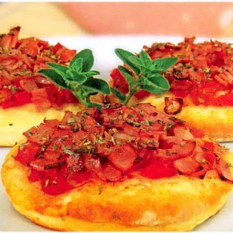 Pizzette s mortadelom