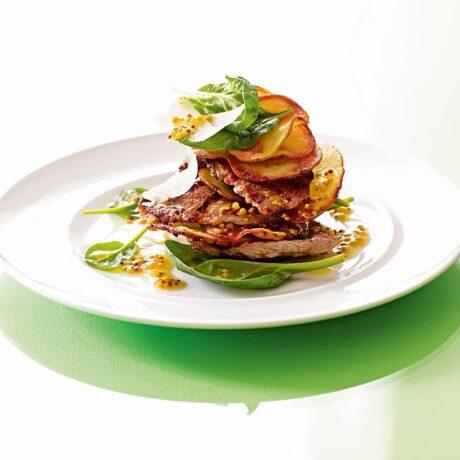 Salata s telećim odrescima