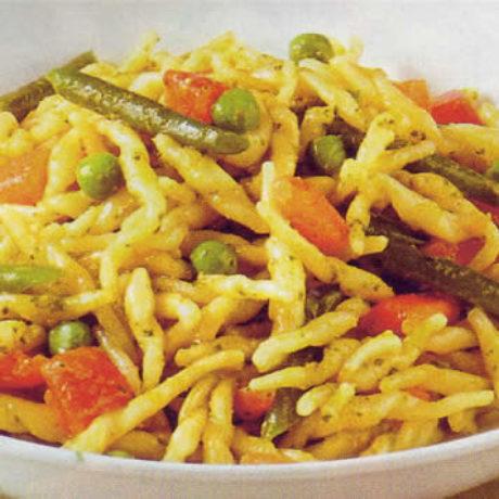 Šurlice s povrćem
